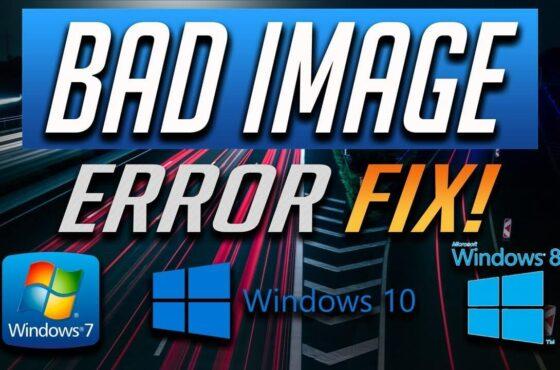 Как исправить ошибку 0xc000012f (Bad Image) в Windows