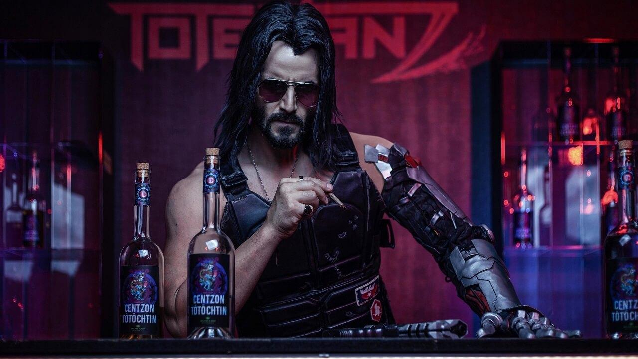 Cyberpunk 2077 Киану