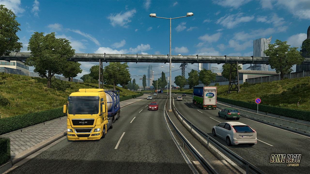 Euro Truck Simulator скриншот 1
